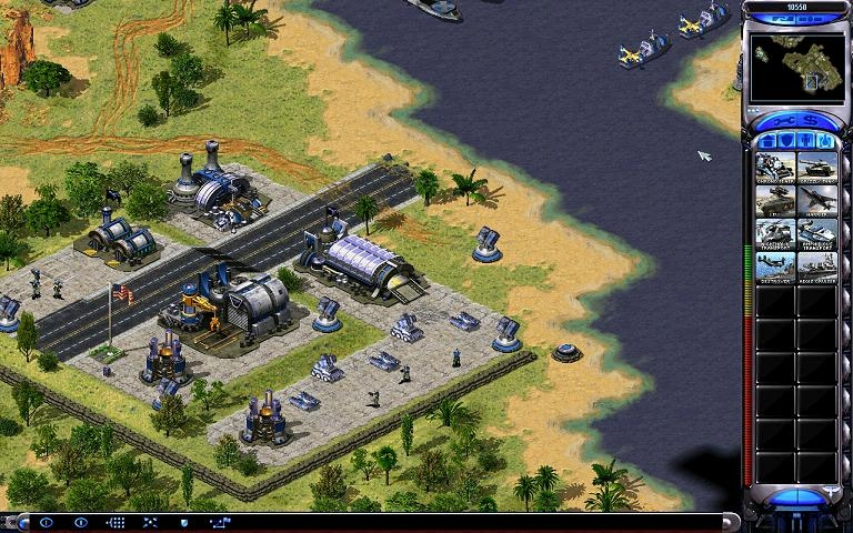 Screenshot of Command and Conquer: Red Alert 2